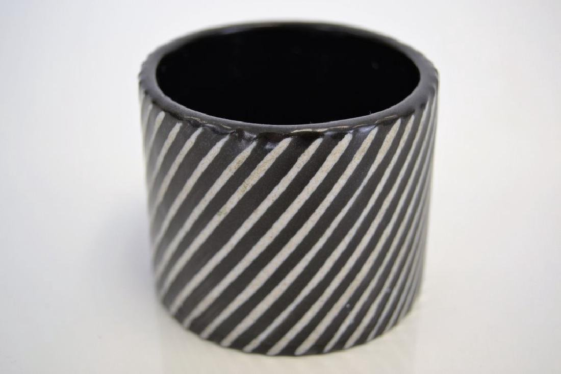 Stig Lindberg for Gustavsberg Striped Vessel - 3