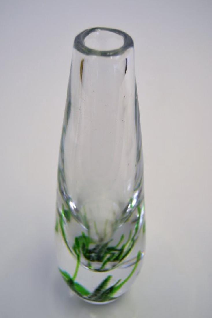 Orrefors Seaweed Vase