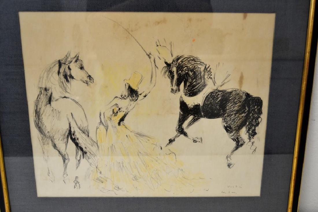 Marcel Vertes Women w/Horses Signed - 3