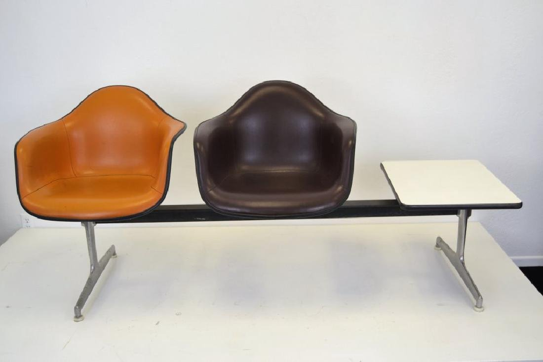 Eames for Herman Miller Settee w/2 Chairs & Table