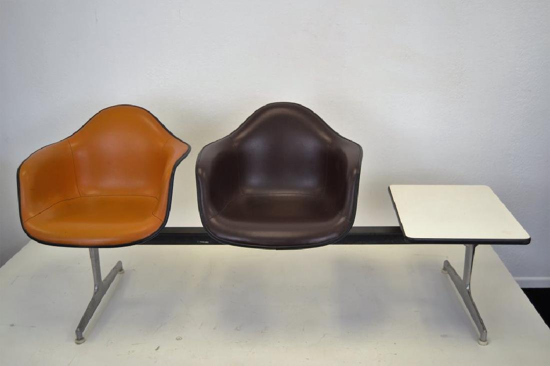 Eames for Herman Miller Settee w/2 Chairs & Table - 2