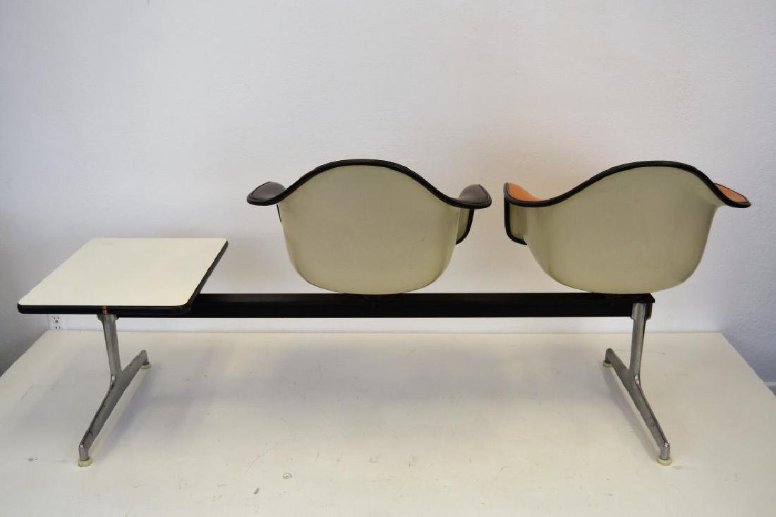 Eames for Herman Miller Settee w/2 Chairs & Table - 5
