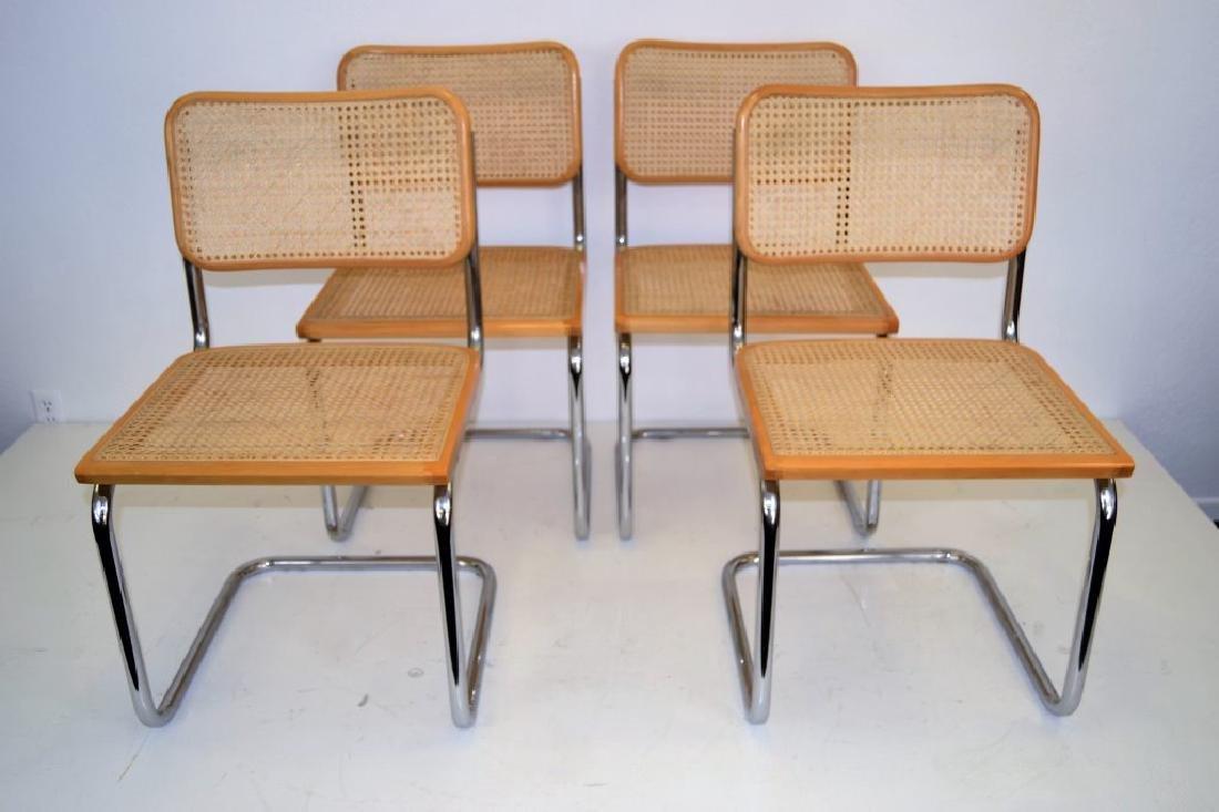 Italian Breuer Style Cane Chairs - 2