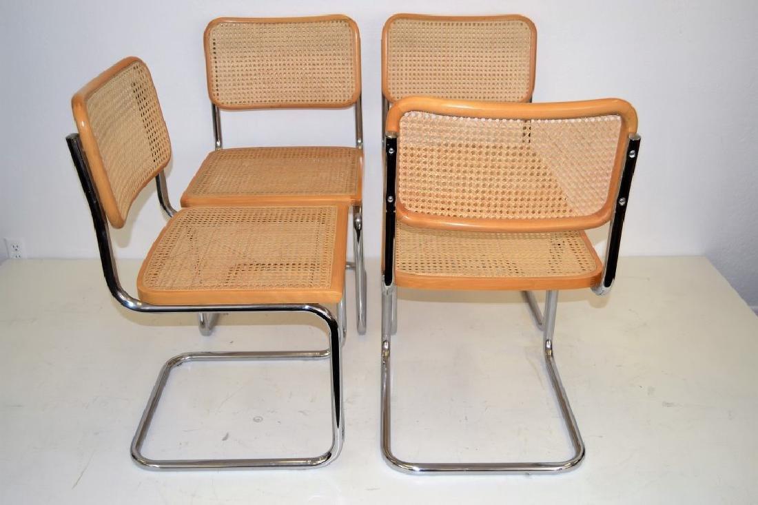 Italian Breuer Style Cane Chairs - 3