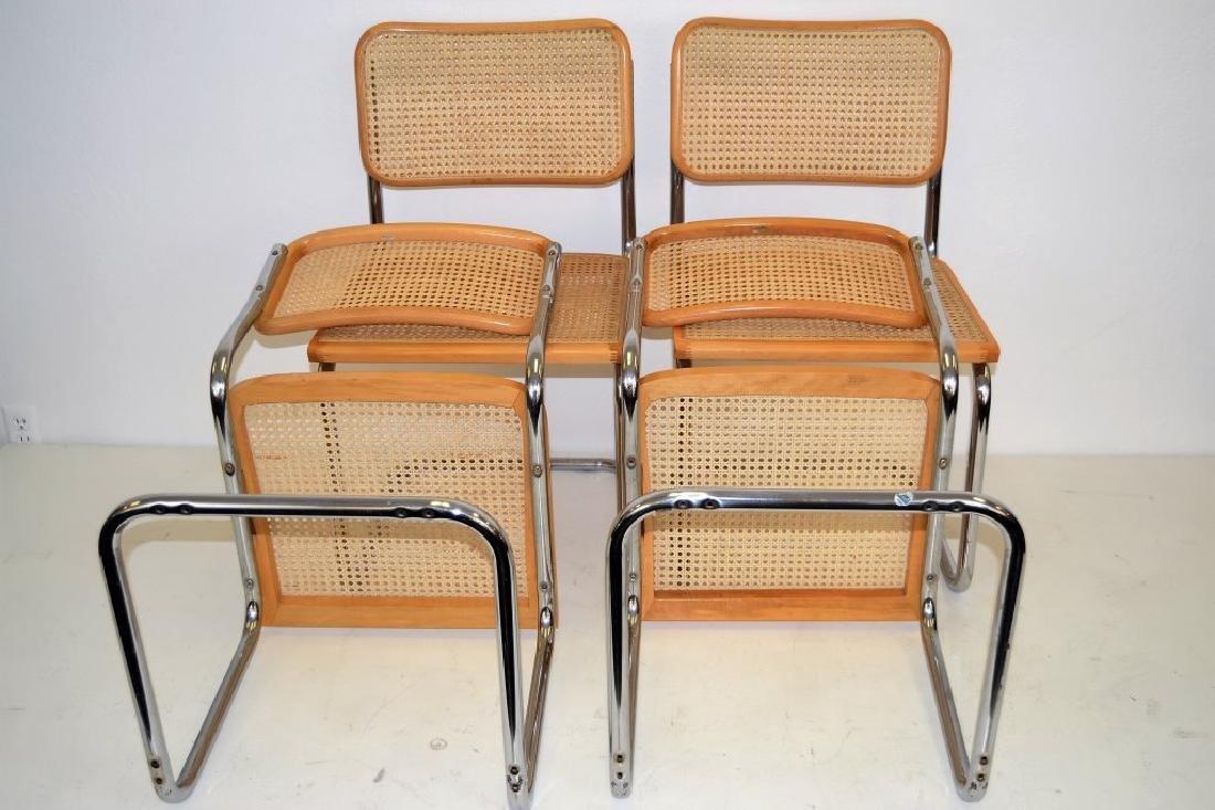 Italian Breuer Style Cane Chairs - 5