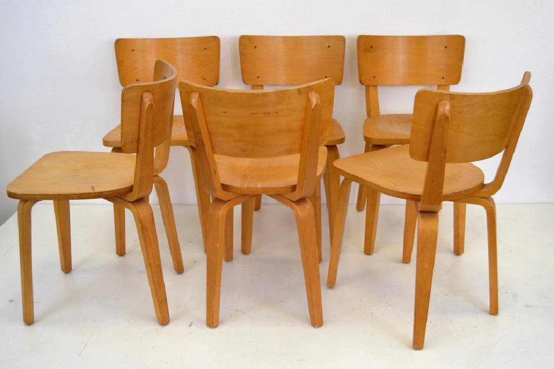Cor Alons Birch Plywood Side Chairs - 5