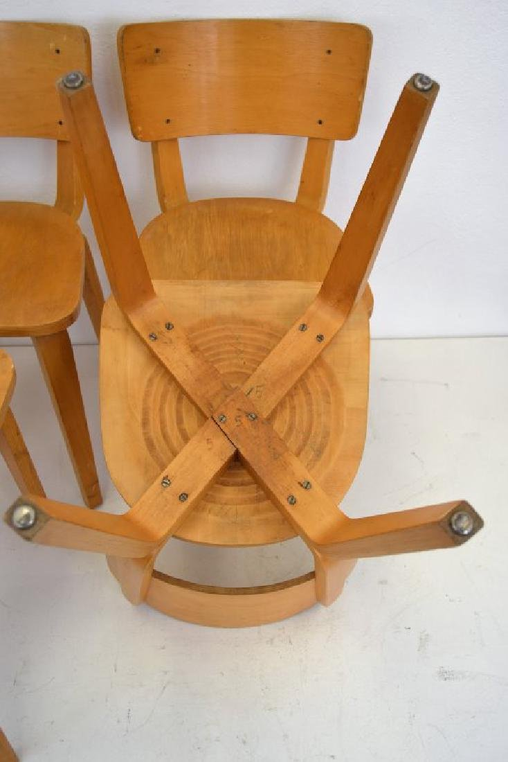 Cor Alons Birch Plywood Side Chairs - 6