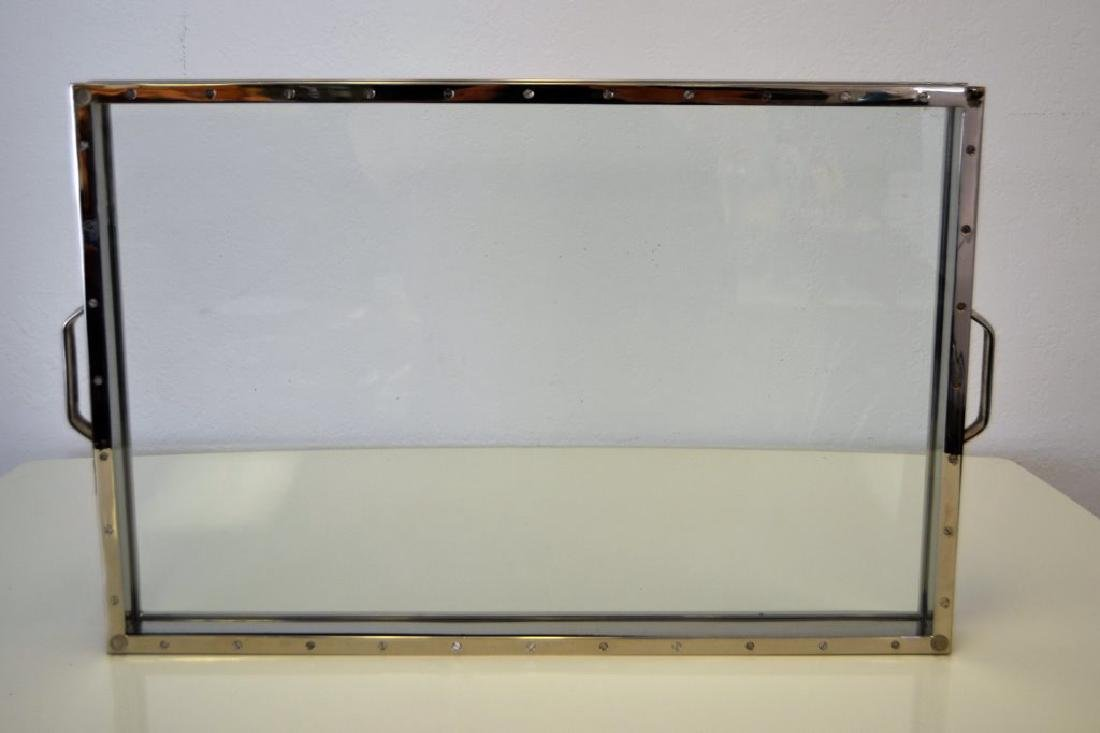 Nickel and Glass Tray - 5