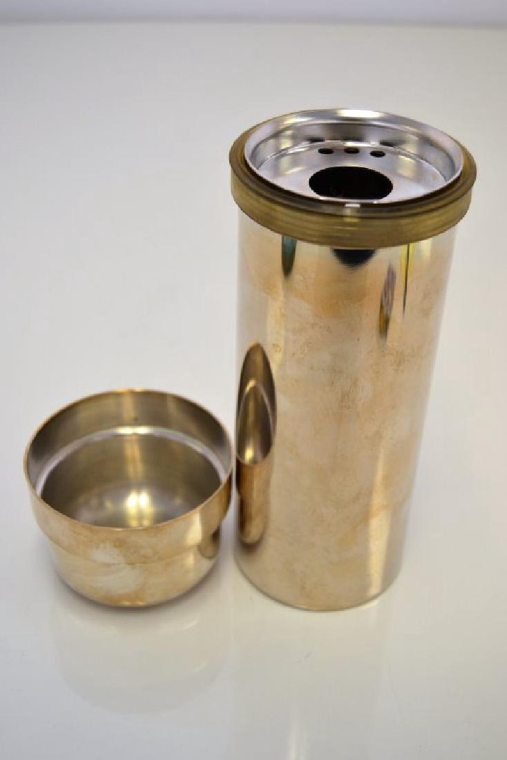 Italian Silver Cocktail Shaker - 4