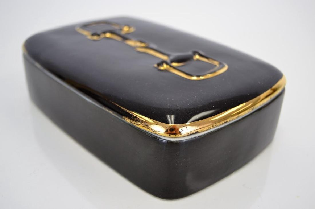 Gucci Vintage Ceramic Covered Box - 2