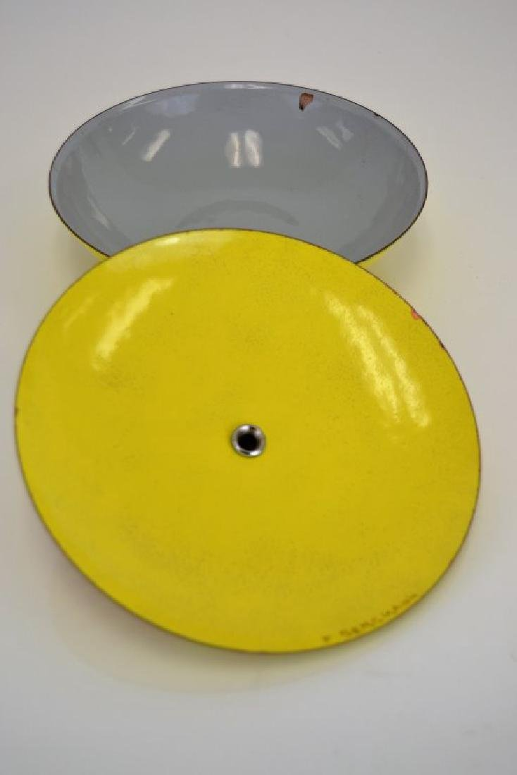 Franz Bergmann Enamel Covered Dish - 5