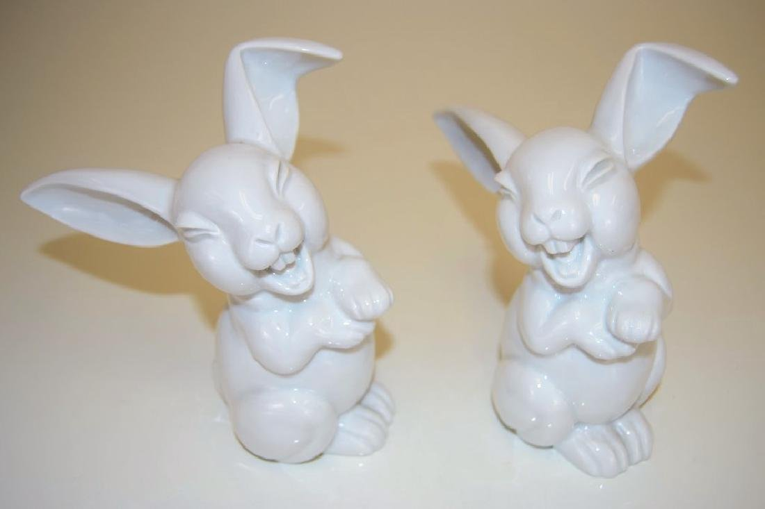 Rosenthal Bunnies - Marked