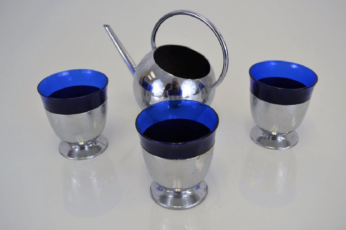 Russell Wright Pitcher with Three Cups