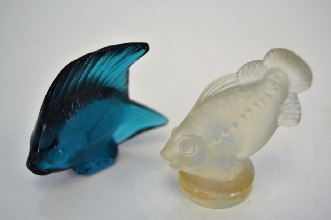Lalique Fish and Sabino Fish - 2