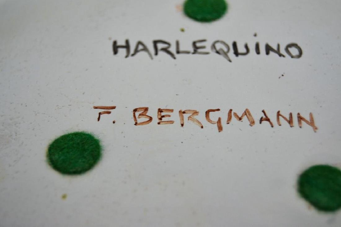 Franz Bergman Enamel Bowl - Signed - 4