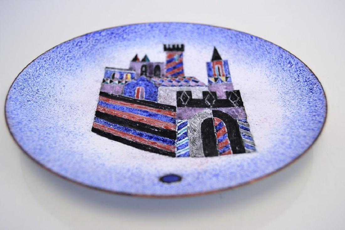 Franz Bergman Enamel Bowl - Signed