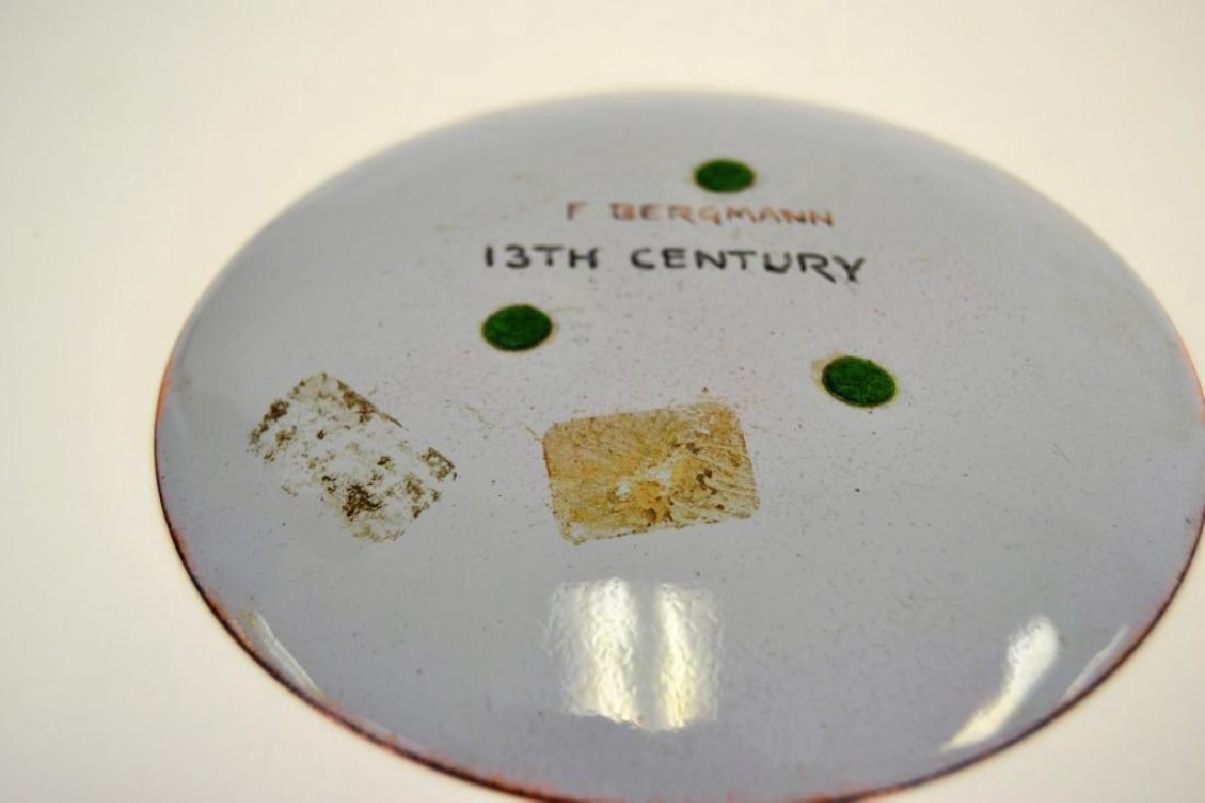 Franz Bergman Enamel Bowl - Signed - 3