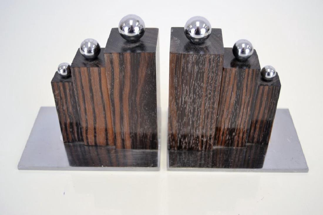Jacques Adnet Bookends - 2