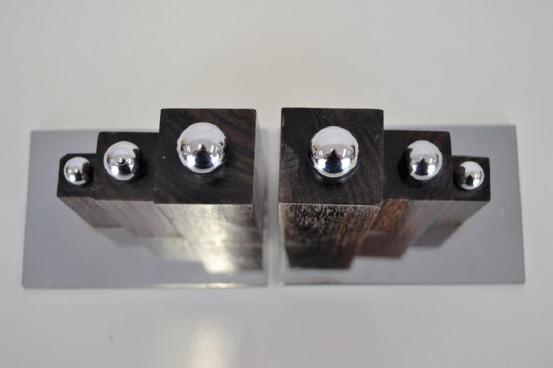 Jacques Adnet Bookends - 3