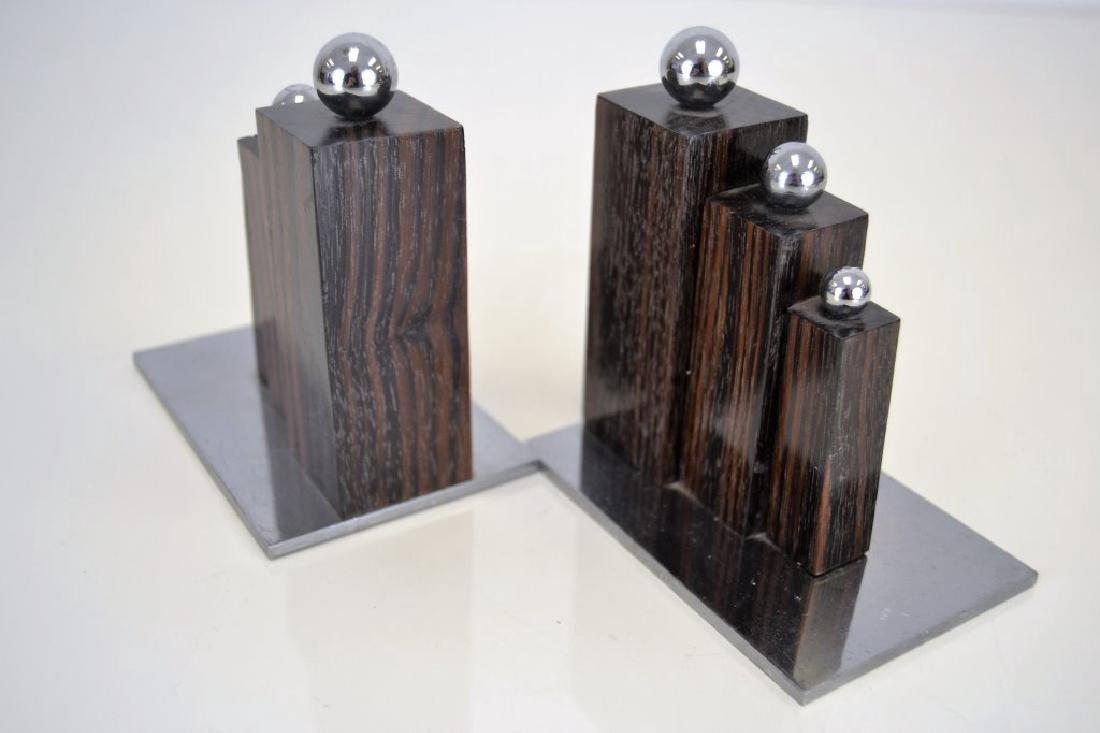 Jacques Adnet Bookends - 4