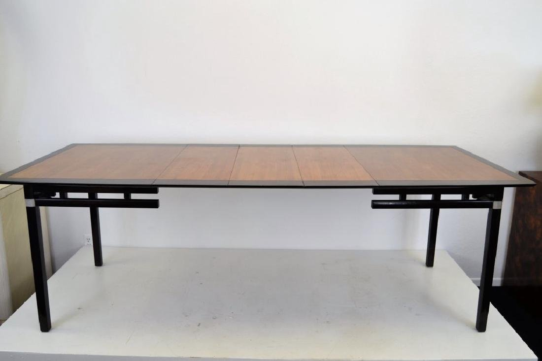 Stylish Mid Century Two Tone Dining Table