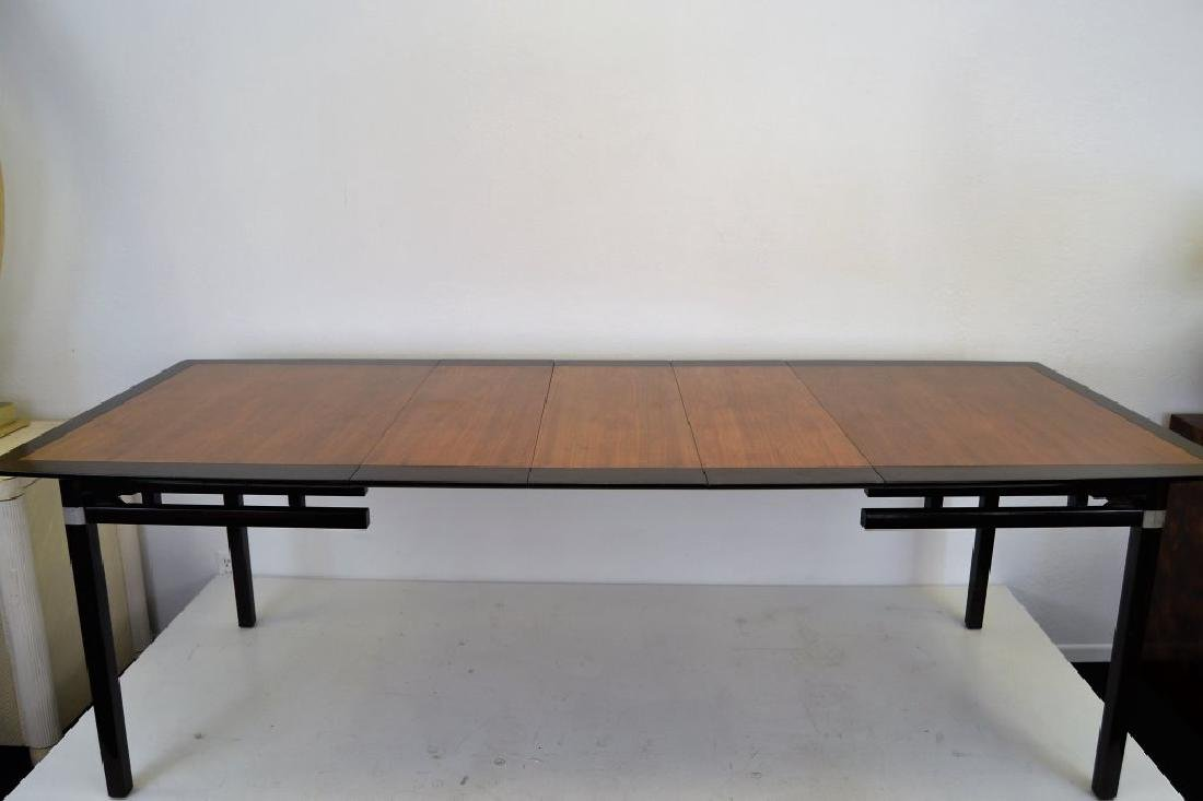 Stylish Mid Century Two Tone Dining Table - 3