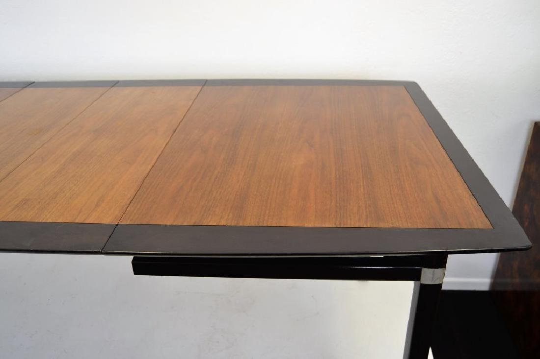 Stylish Mid Century Two Tone Dining Table - 4