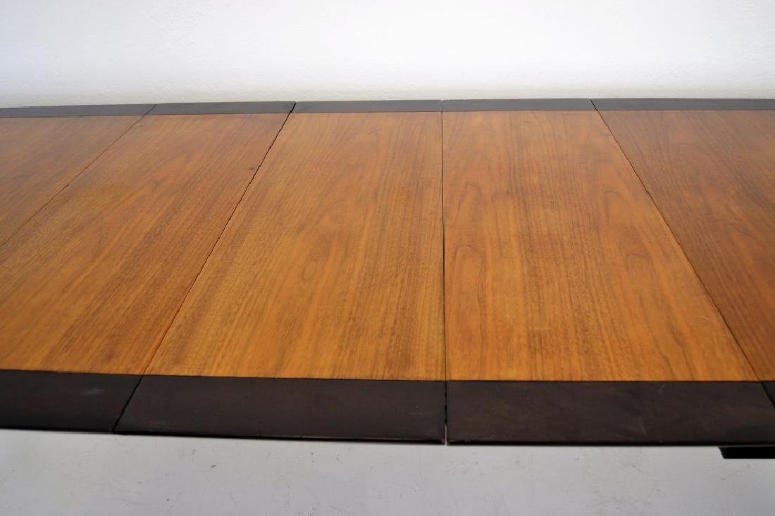 Stylish Mid Century Two Tone Dining Table - 5