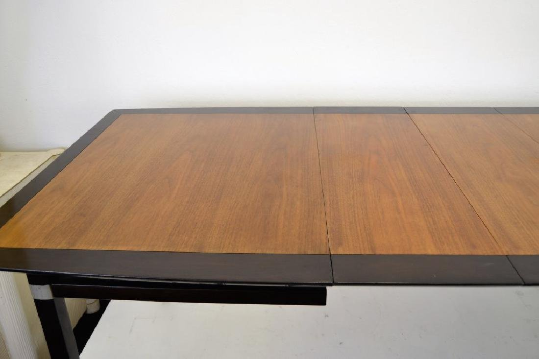 Stylish Mid Century Two Tone Dining Table - 6