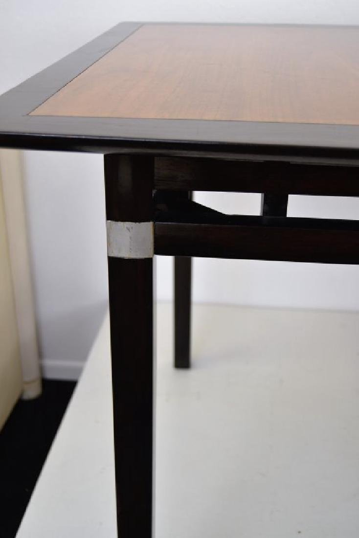 Stylish Mid Century Two Tone Dining Table - 7