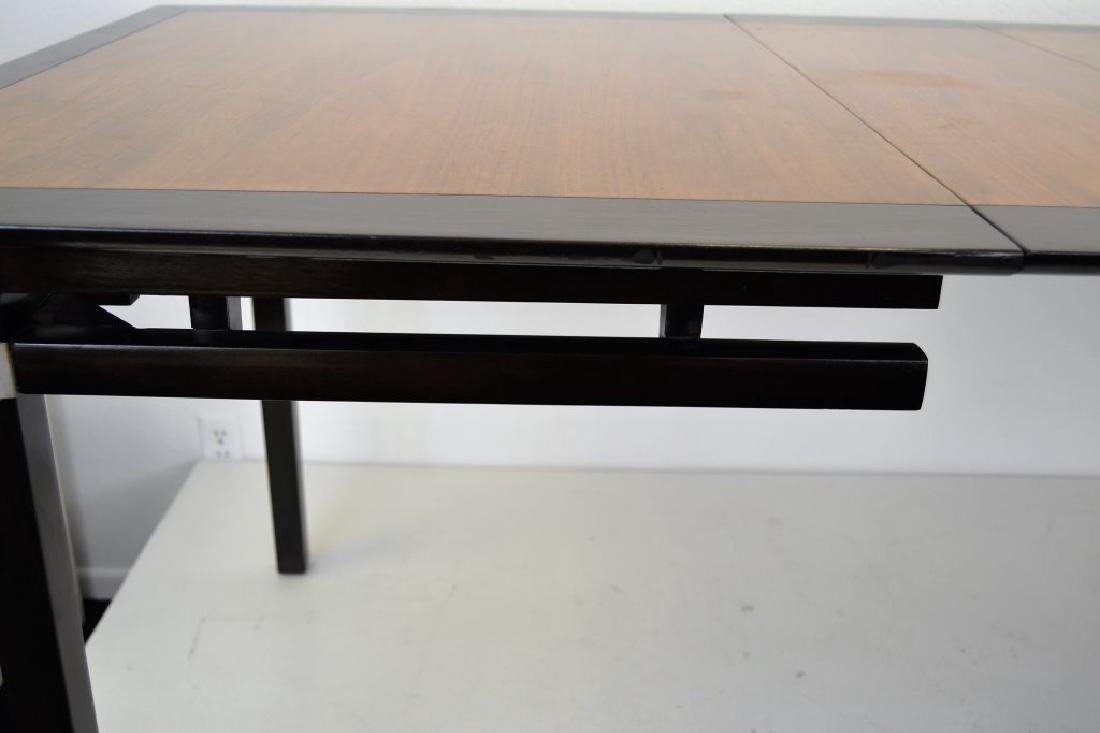 Stylish Mid Century Two Tone Dining Table - 8