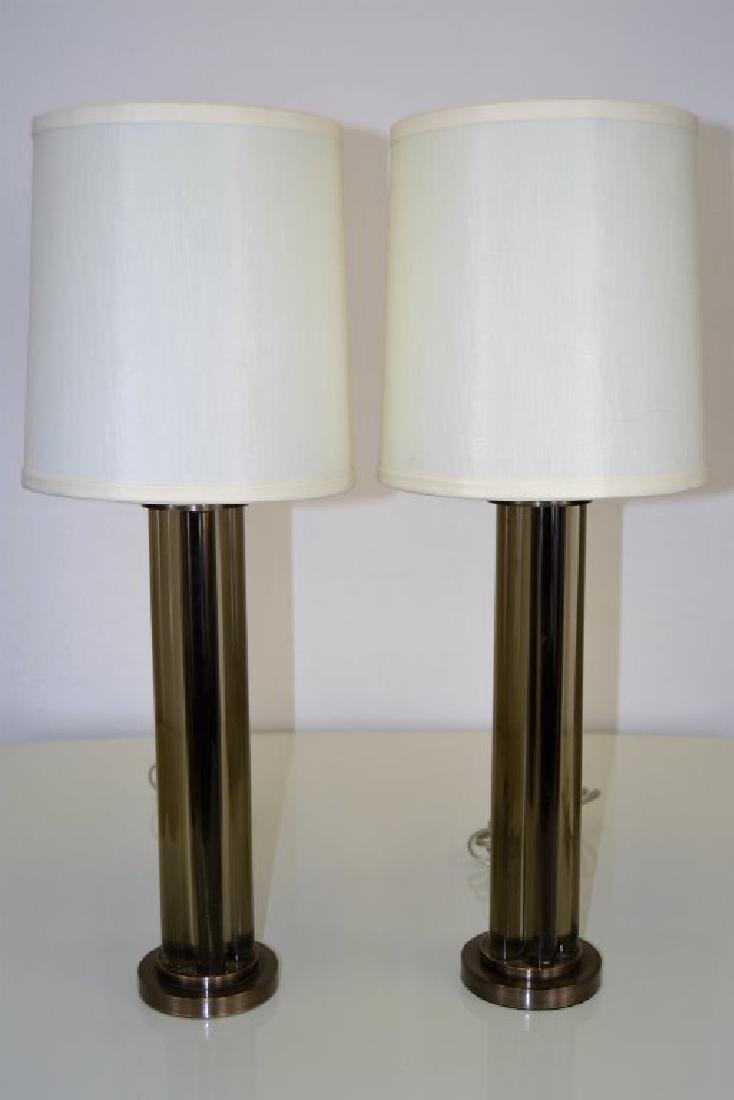 J. Robert Scott Bronze and Glass  Lamps - 3