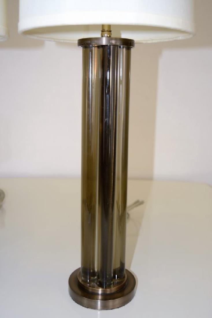 J. Robert Scott Bronze and Glass  Lamps - 4