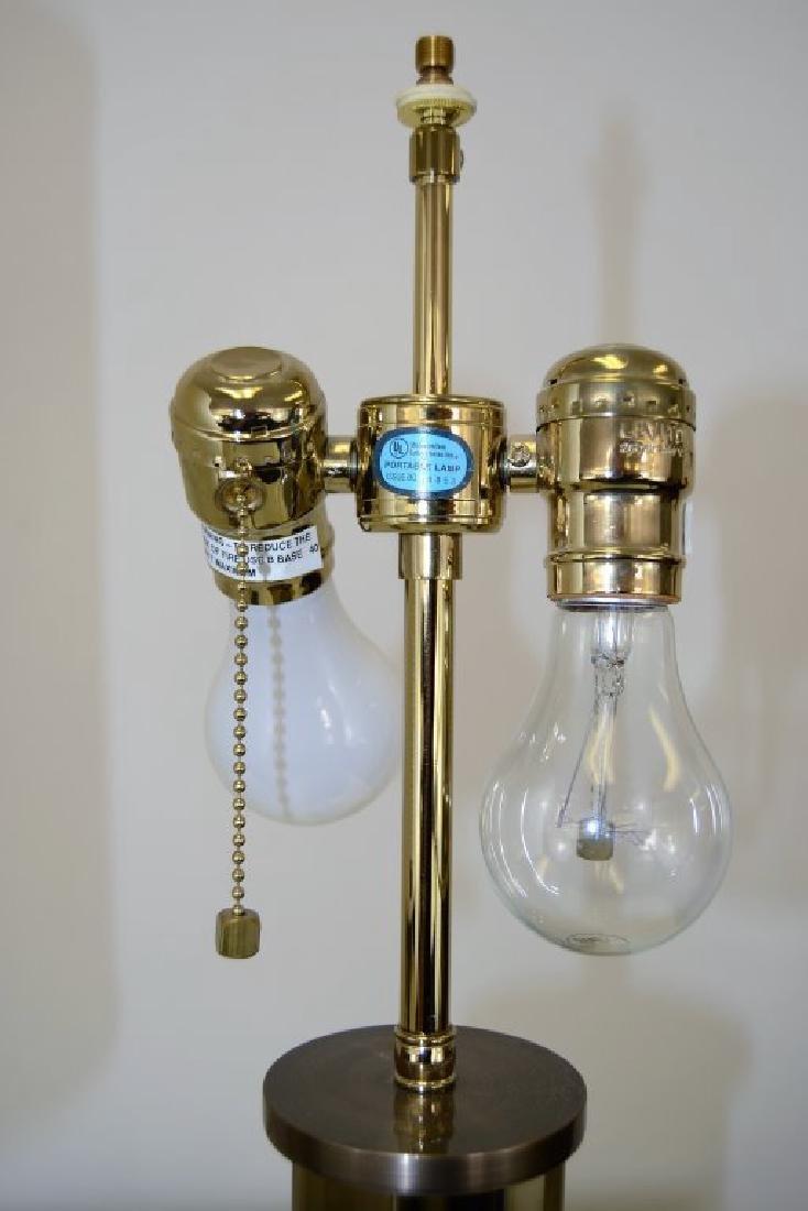 J. Robert Scott Bronze and Glass  Lamps - 5