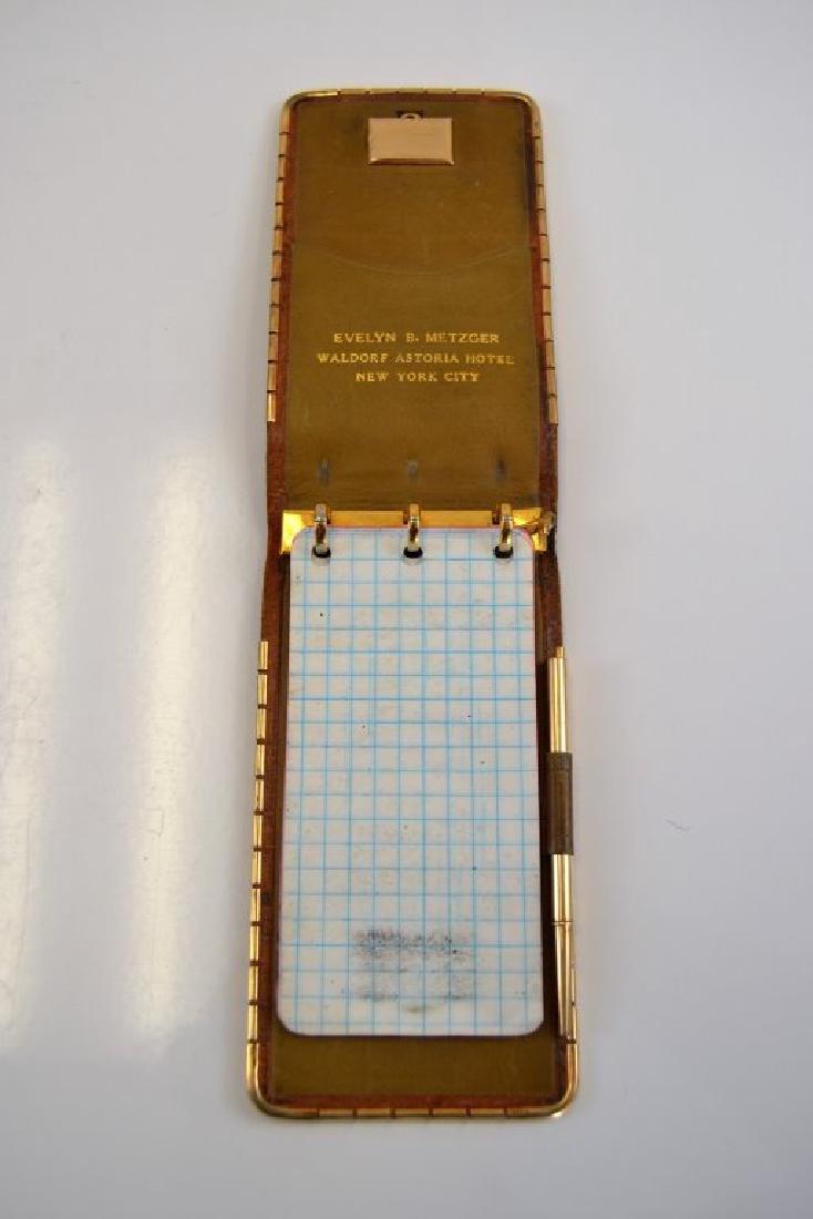 J. Schulz 14K Watch in Notepad w/14K Gold Pencil - 3