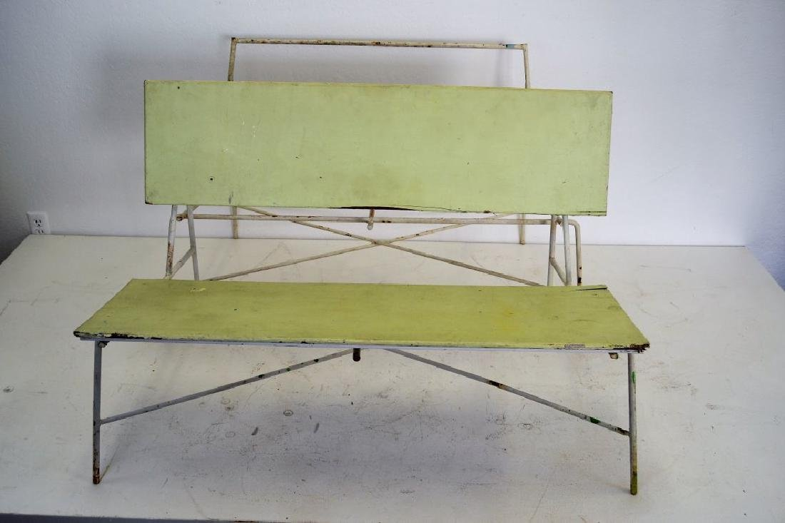 Pair Luther Conover Benches