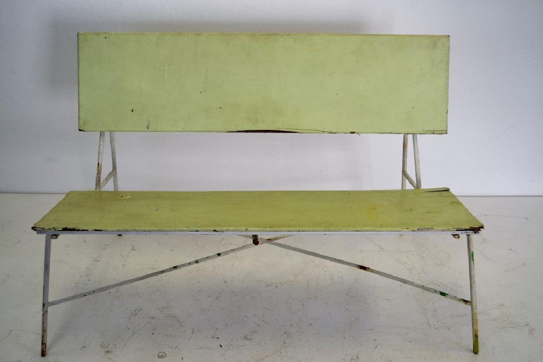 Pair Luther Conover Benches - 4