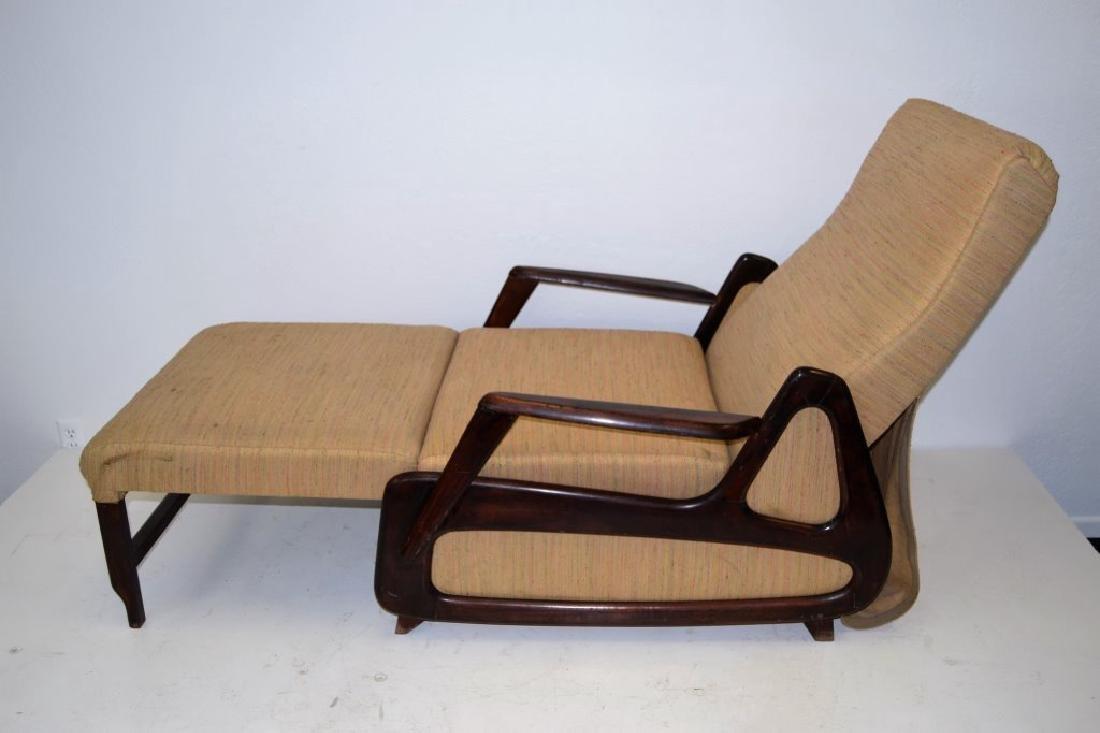 Vladimir Kagan Style Modernist Recliner - 2