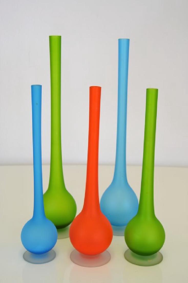 Carlo Moretti Set of Five Vases