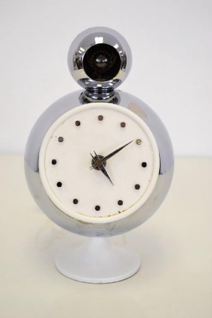 Angelo Lelli for Arredoluce Monza Chrome Clock