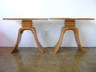 "30: Paul Frankl ""Bell"" Tables"