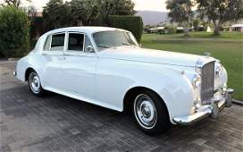 1960 Bentley S2 owned by Peggy Fleming
