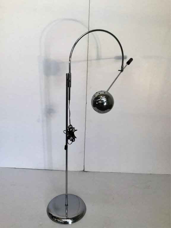"Robert Sonneman ""Orbiter"" Floor Lamp"
