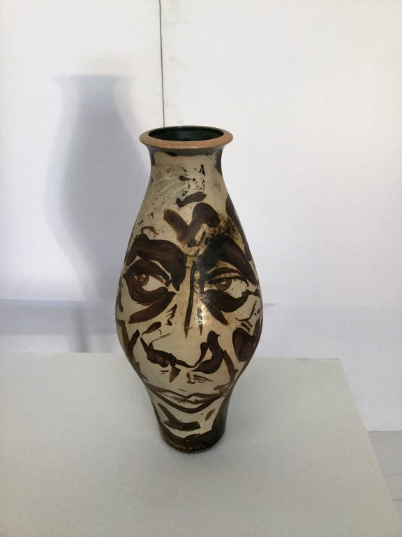 Ceramic Studio Vase Signed