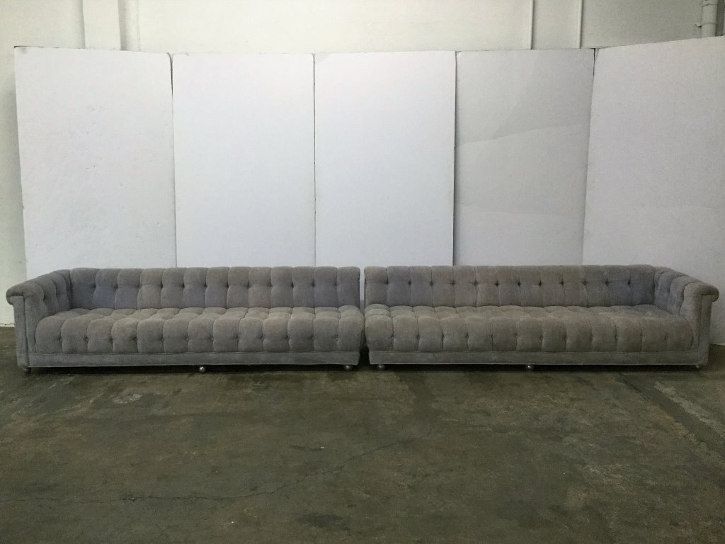 Dunbar Custom Tufted 2Pc Sofa by Edward Wormley
