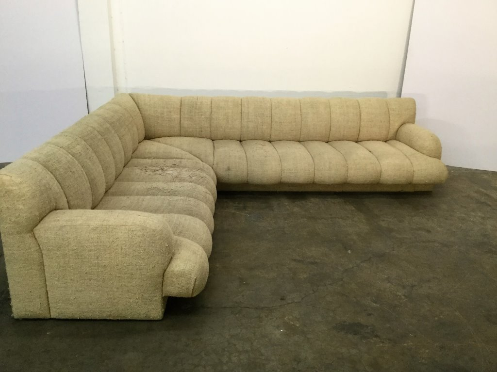 Steve Chase Custom L-Shape Sofa Long Section