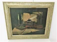 Rudolph Neugebauer Oil on Canvas Still Life