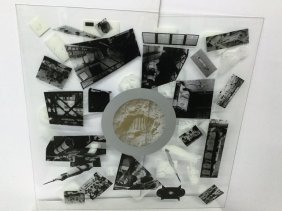 Lloyd Nesbitt Silkscreen On Acrylic Signed L. Nesbitt