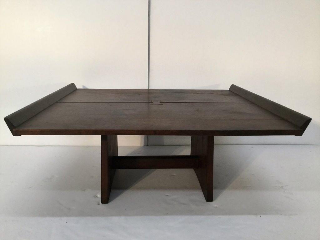 nakashima rare early milk house table