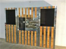 """Paul Evans """"Cityscape"""" Wall Cabinet"""